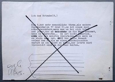 Artist's statement von Alex Ignatius