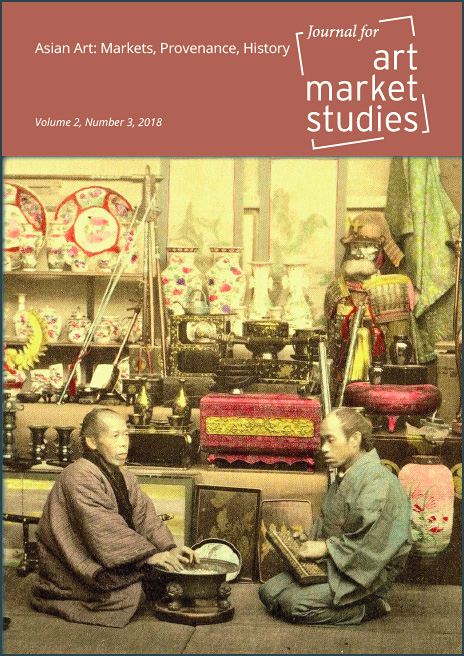 "Umschlag ""Journal for Art Market Studies"", vol.2, no. 3 2018"